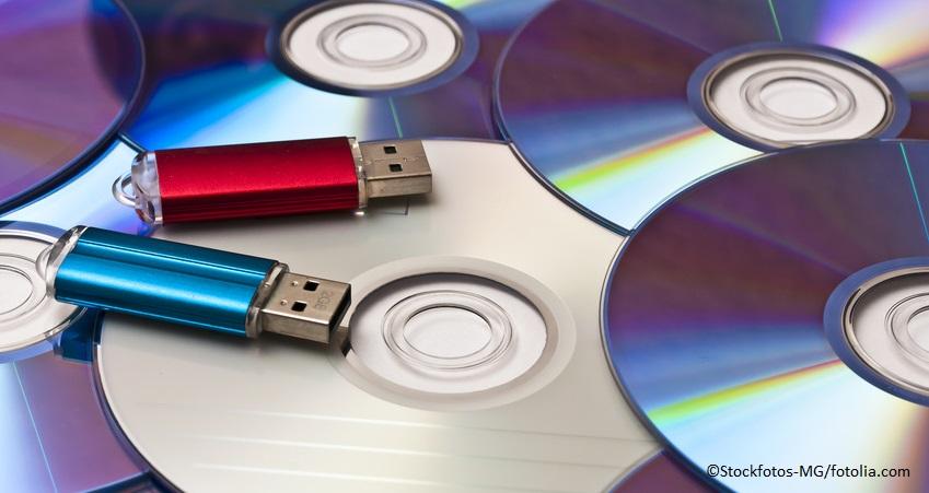 E-Akte vor Gericht - Datenspeicher